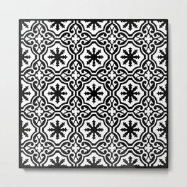 Arabic Style Pattern  Metal Print
