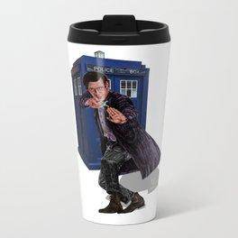 11th Doctor Metal Travel Mug