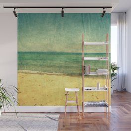 Seascape Vertical Abstract Wall Mural