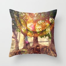 Bonsai Magic Throw Pillow