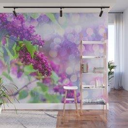 Spring rain Wall Mural