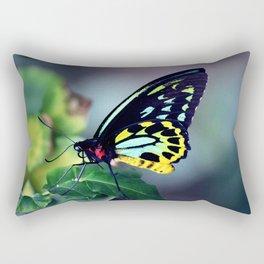 Fluorescent Birdwing Rectangular Pillow