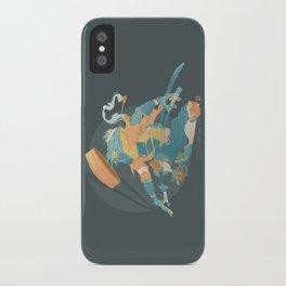 Blue Ronin iPhone Case