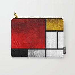 Luxury Mondrian Carry-All Pouch