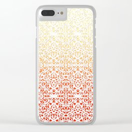 Baroque Style Inspiration G153 Clear iPhone Case
