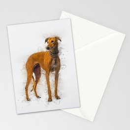 Greyhound Art Stationery Cards