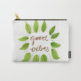 Good Vibes,motivation desgin Carry-All Pouch
