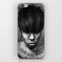 rock n roll iPhone & iPod Skins featuring Rock N Roll by ''Befne''