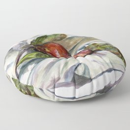 Apples from the orchard Floor Pillow