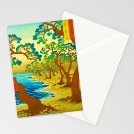 Rubino Asian Japan Forest Stationery Cards
