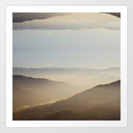 darjeeling for duvet Art Print