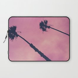 Pink Palms & Haze Laptop Sleeve