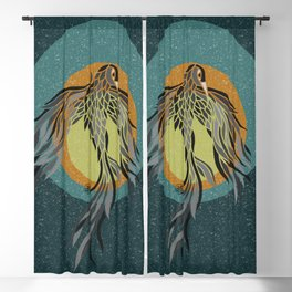 Shadow Phoenix Blackout Curtain