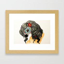 Sugar Skull Horse Framed Art Print