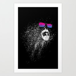 The face of the universe Art Print
