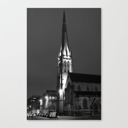 Renfield St Stephens (Grayscale) Canvas Print
