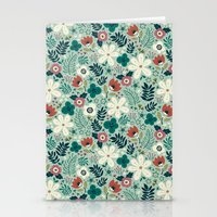 garden Stationery Cards featuring Flower Garden by Anna Deegan