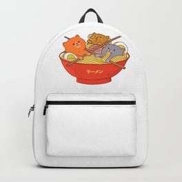 Ramen and cat Backpack