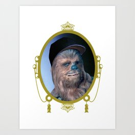 Chewie - The Wookiee Art Print