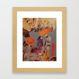 Amanita caesarea Framed Art Print