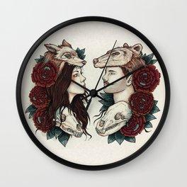 Necromance Wall Clock