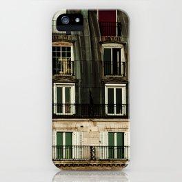Parisian Windows. iPhone Case
