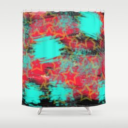 Color Fantasy Shower Curtain