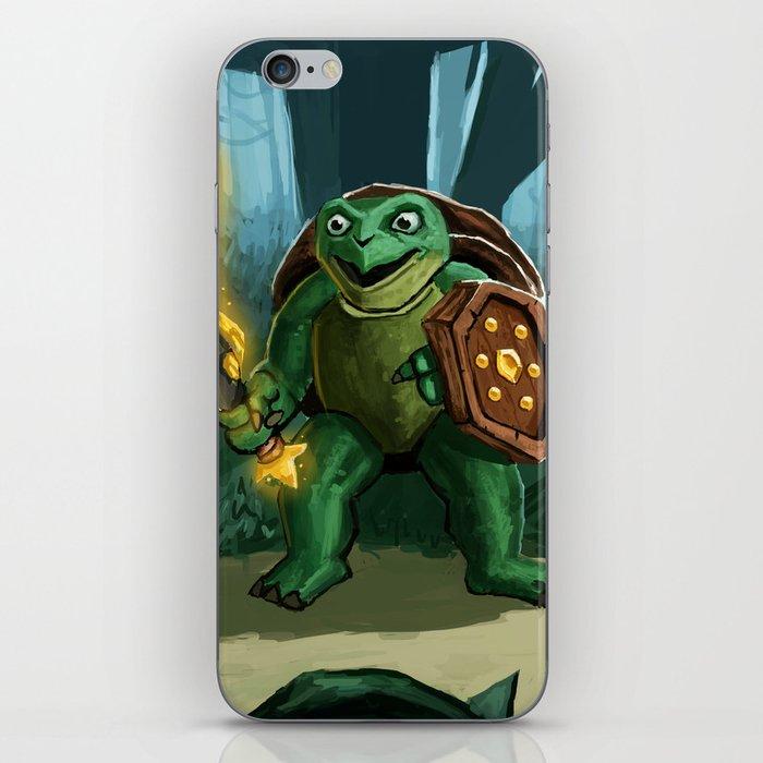 Turtle Paladin iPhone Skin