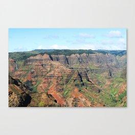 Waimea Canyon Defined Canvas Print