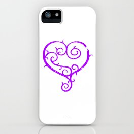 GO. LIVE. NOW. heart logo iPhone Case