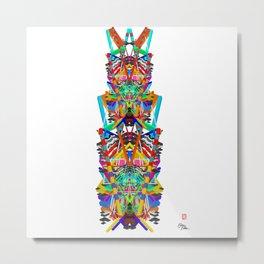 Priest Metal Print