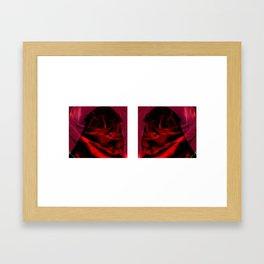 VIRGIN_ROSE Framed Art Print