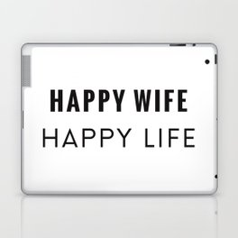 Happy Wife Laptop & iPad Skin