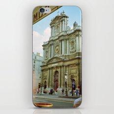 Paris in 35mm Film: Eglise Saint-Paul-Saint-Louis in Le Marais iPhone Skin