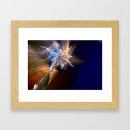 Abstract Star Of Wonder Framed Art Print