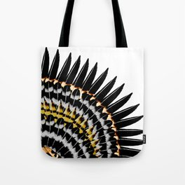 Feather Fringe Tote Bag