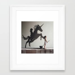 I HAVE A DREAM 5 Framed Art Print