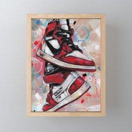 Air Jordan 1 High Off White  Framed Mini Art Print