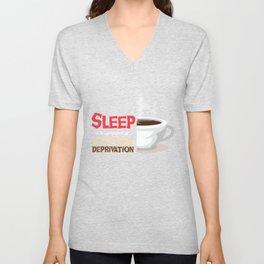 Sleep Is A Symptom Of Caffeine Deprivation I Love Coffee  Cup Of Coffee Unisex V-Neck