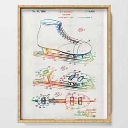 Ice Skate Patent - Sharon Cummings Serving Tray
