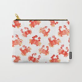 Red Crabs in Japanese watercolors Carry-All Pouch