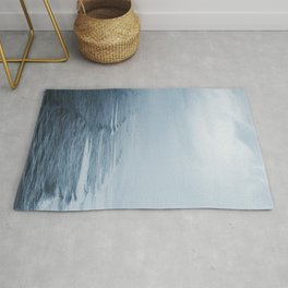 Storms over the Pacific Ocean Rug