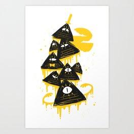 """""""Night Parade"""" Art Print"""