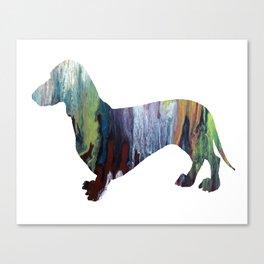dachshund Canvas Print