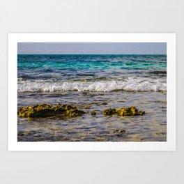 Vivid Shores Art Print