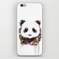 panda iPhone & iPod Skins featuring panda by ururuty