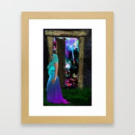 Keeper of the universe Framed Art Print