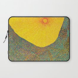 Here Comes the Sun - Van Gogh impressionist abstract Laptop Sleeve