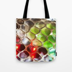 Snakeskin & Beads Tote Bag
