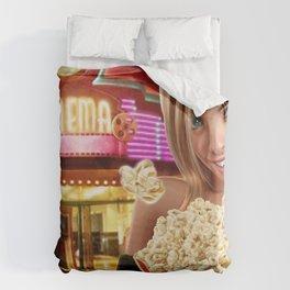 CINEMA POP Duvet Cover